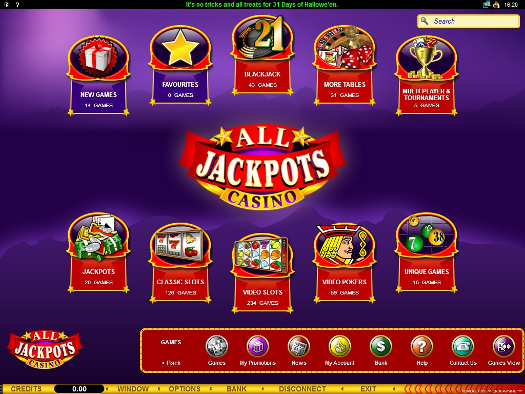Casino Jackpots